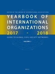 Yearbook of International Organizations 2017-2018, Volumes 1A & 1B (SET)
