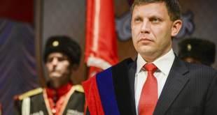 El líder separatista de Donetsk, Alexander Zakharchenko. Mstyslav Chernov AP