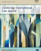 New Issue: Cambridge International Law Journal