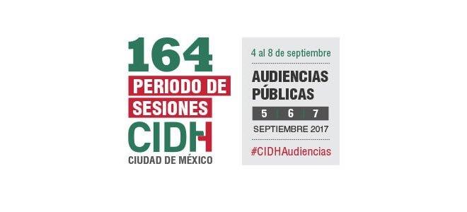 164 Periodo Extraordinario de Sesiones en Ciudad de México - 4 al 8 de septiembre de 2017