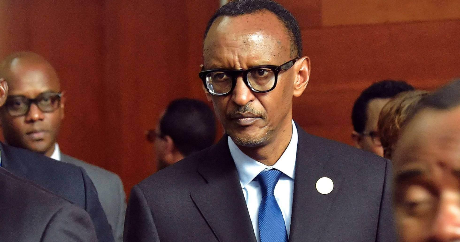 El presidente ruandés Paul Kagame, durante la asamblea de la Unión Africana en Addis Abeba. SIMON MAINA AFP