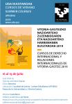 Cursos de Derecho Internacional y Relaciones Internacionales de Vitoria Gasteiz