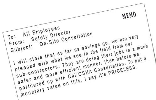 Cal/OSHA Consultation Services