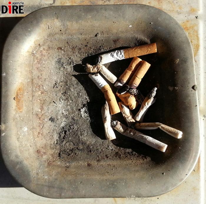 Il fumo di una malattia come lanciare