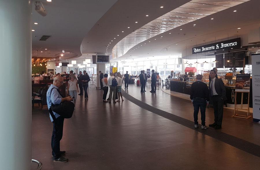 Roma inaugurata nuova ala Terrazza Termini negozi e ristoranti su 3000 mq