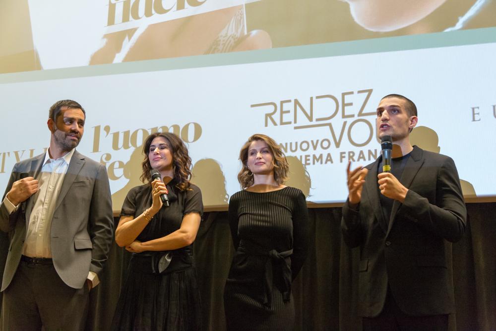 """Risultati immagini per Groupama Assicurazioni il cinema Anteo e il film: """"L'Uomo Fedele""""."""