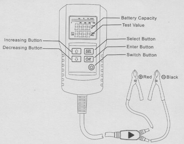 Digital Battery Analyzer AE300 – manual