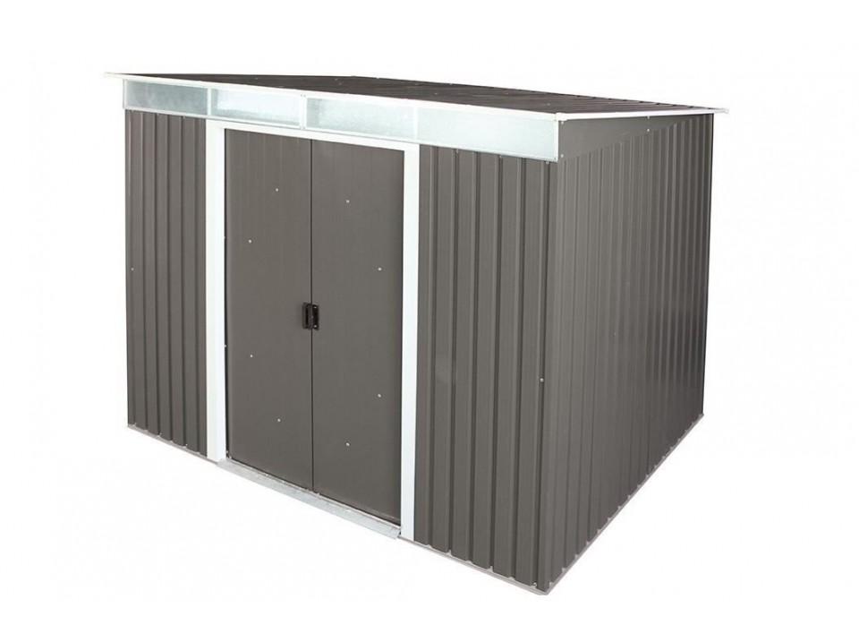 abri de jardin metal duramax 4 33 m2