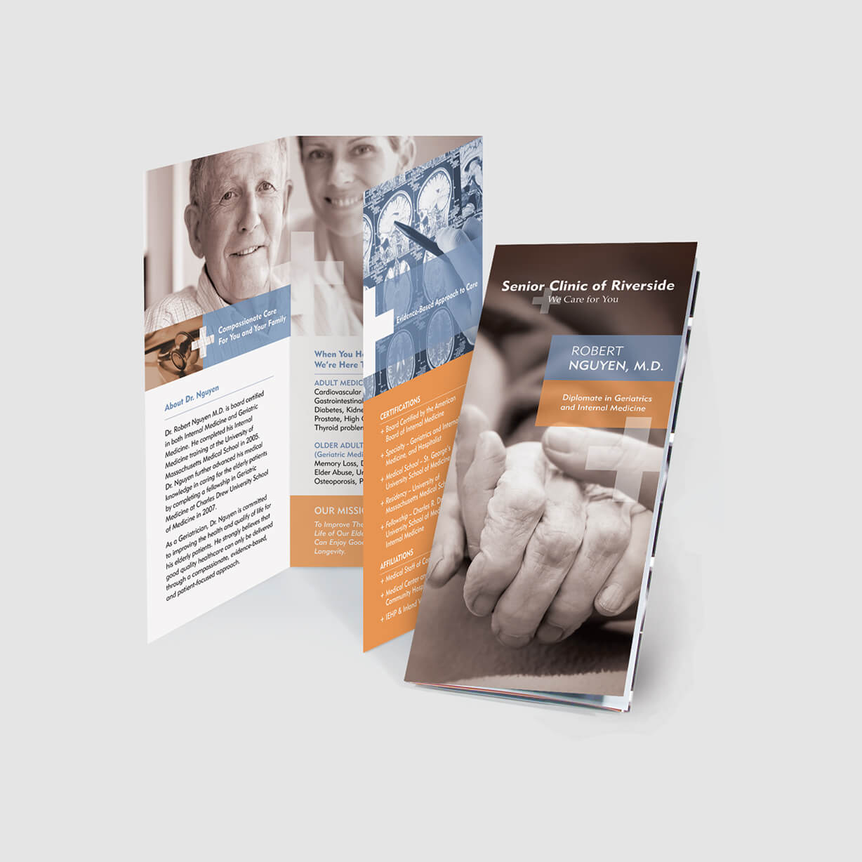 Medical Health Care Brochure Design Samples