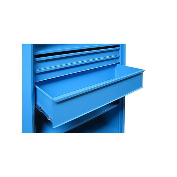 tiroir pour armoire d atelier supra h 10 cm rail telescopique