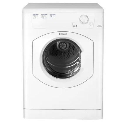 Hotpoint TVHM80CP Vented Dryer