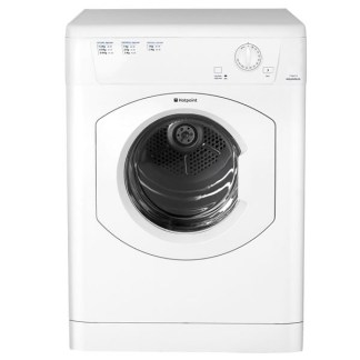 Hotpoint TVHM80CP Vented Dryer