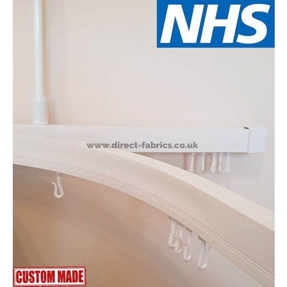 cubicle curtain track nhs approved made to measure complete kit