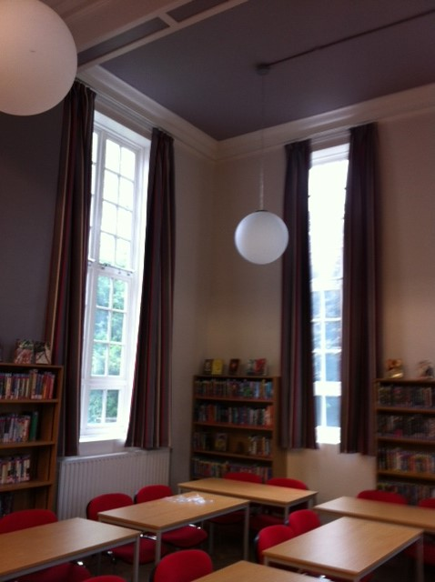 School Curtains Flame Retardant Library Curtains  Direct Fabrics Blog