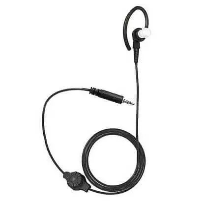 Motorola 1 Wire Earpiece With Volume Control (Black