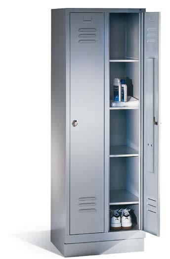 armoire vestiaire metal et bois gamme classique