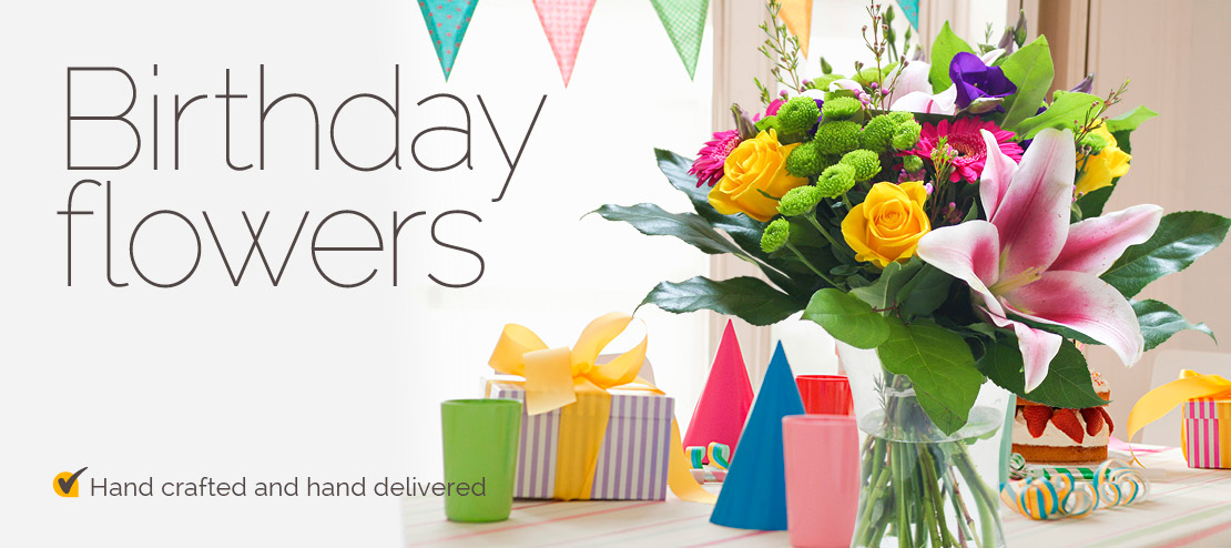 Birthday Flower Delivery By Local Florists In USA Send