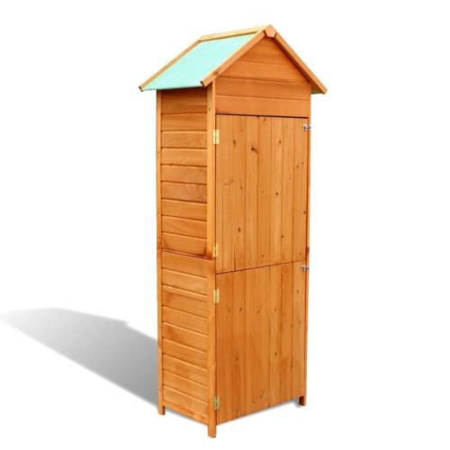 abri de rangement de jardin en bois