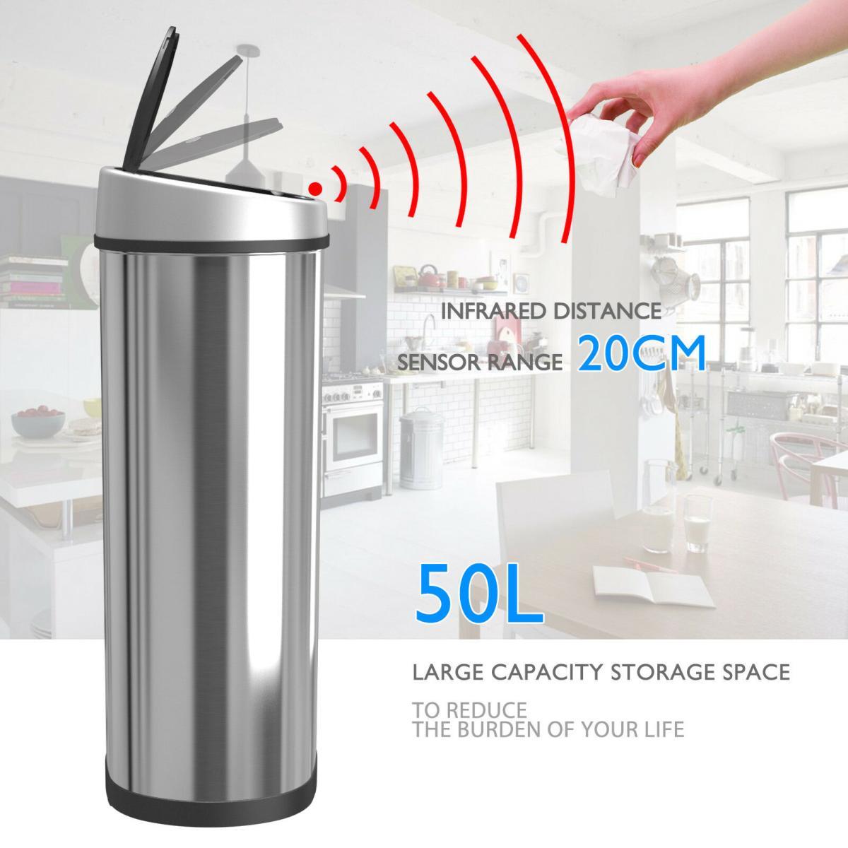 poubelle automatique avec capteur sensoriel