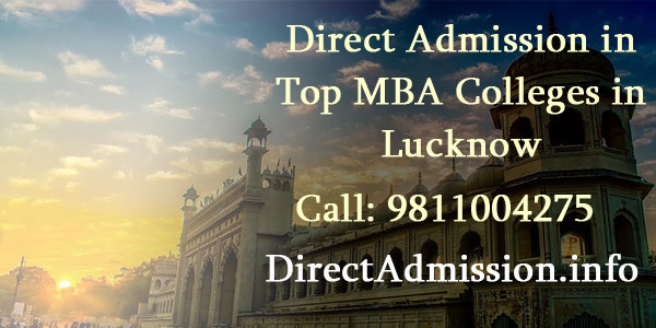 Direct Admission MBA colleges lucknow