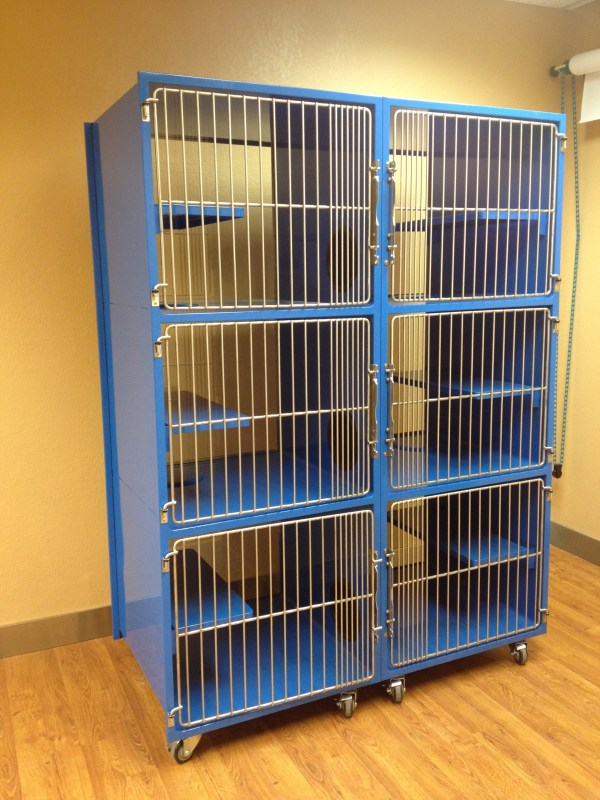 Condo Stainless Steel Cat Kennels