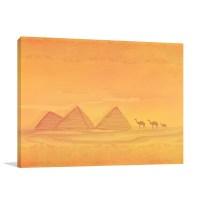 Pyramid Of Giza Wall Art Print And Canvas Wall Hangings