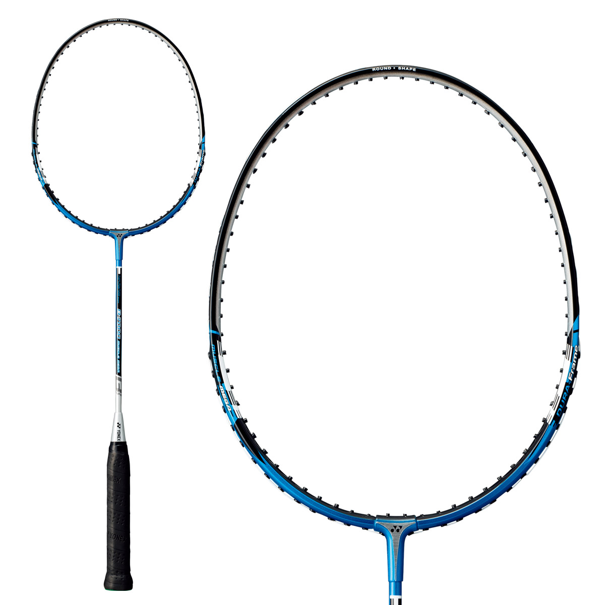 Yonex Basic Mdm Badminton Racket White Blue