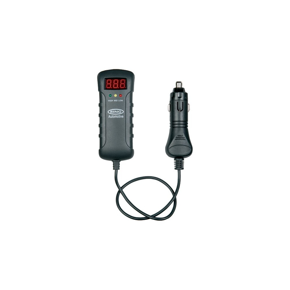 medium resolution of ring automotive 12v and 24v cattery tester with dc plug and led indicators