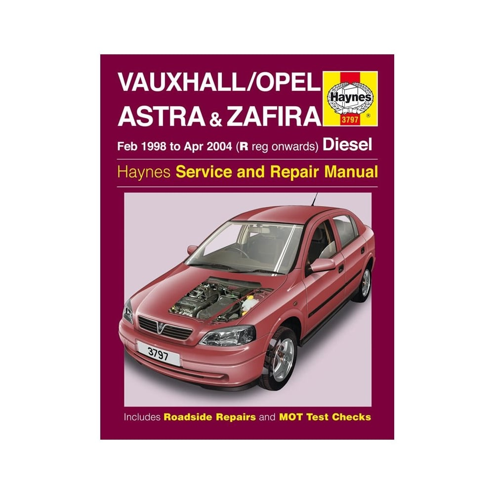 medium resolution of haynes workshop manual for vauxhall opel astra and zafira rh directcarparts co uk gen ii car