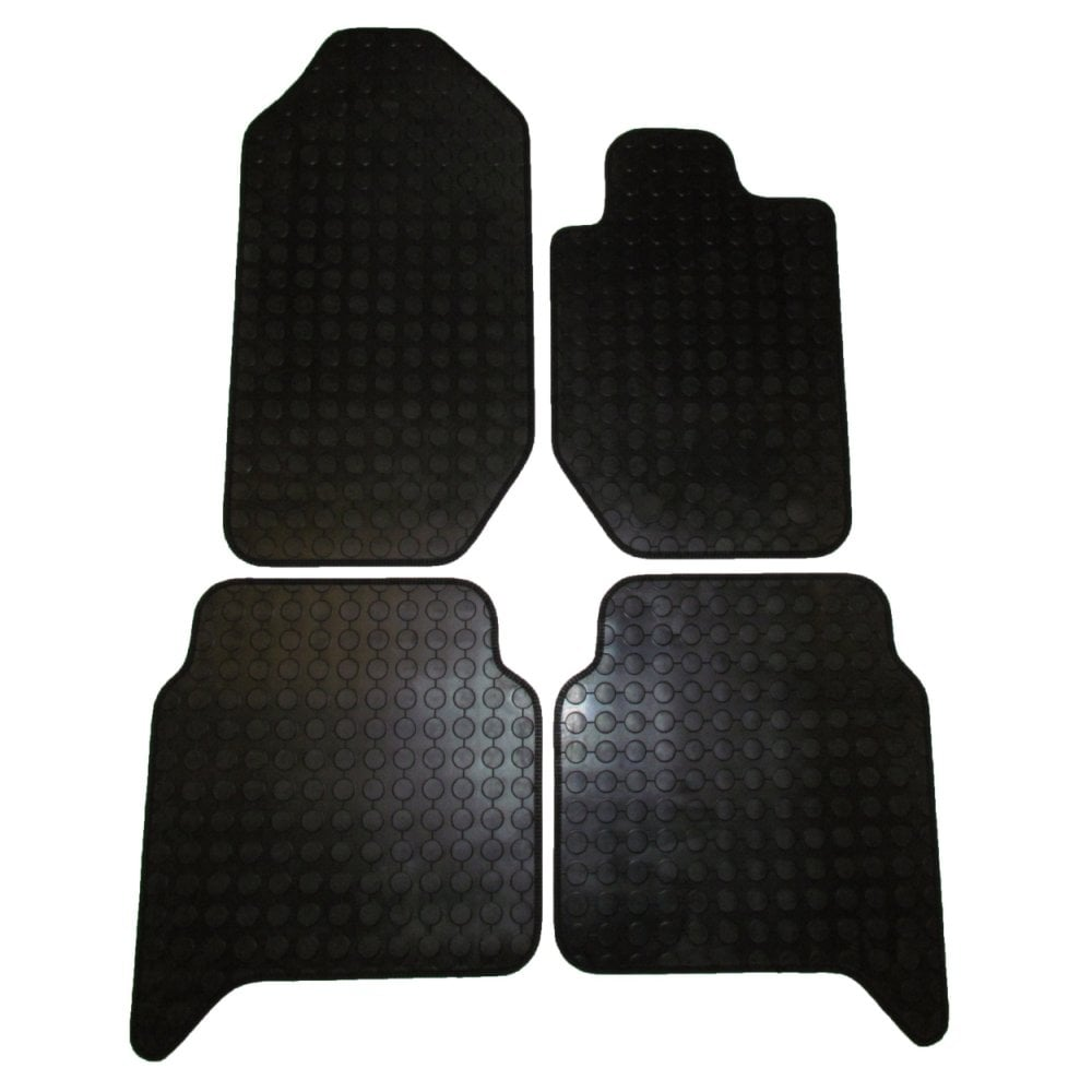 hight resolution of polco four piece rubber tailored to fit van mats for ford ranger 2012