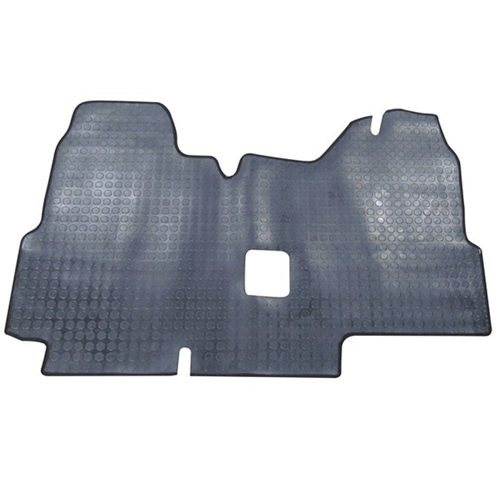 hight resolution of polco one piece front rubber tailored to fit van mat for ford transit 2000 2006