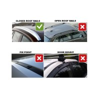 Thule Roof Bars for Vauxhall Zafira 07-2014 from Direct ...