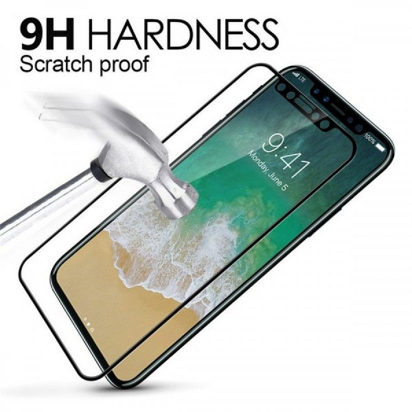 iPhone XS / X 5D Curved Tempered Glass 3