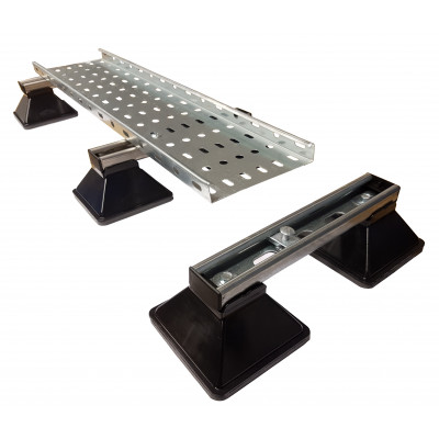 Cable Containment  Cable Tray  Cable Tray Floor Mounts