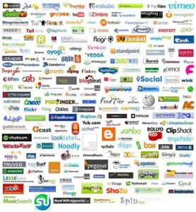 every social media website logo