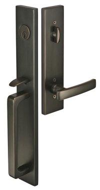 Emtek Door Hardware - Emtek Lausanne Entrance Handleset