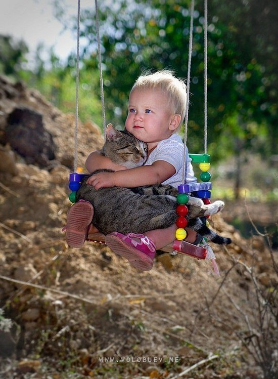 child-and-cat