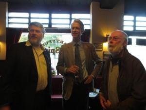 Old friends Ruud, Adriaan and Gerard