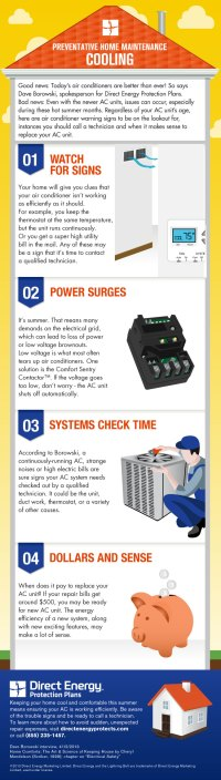 Home Cooling Checklist Infographic | Direct Energy ...