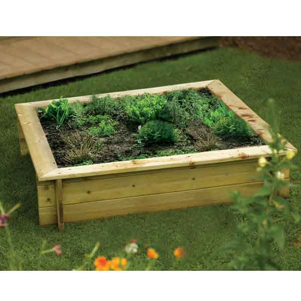 Childrens Raised Garden Planter