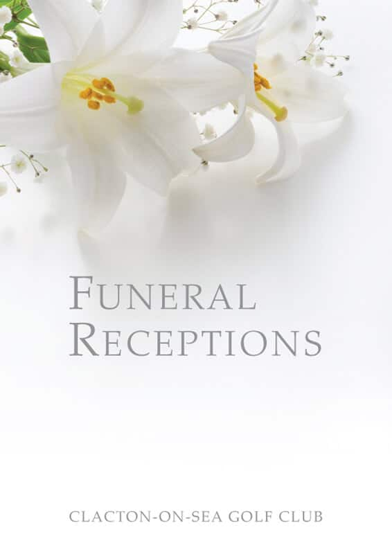 Clacton Golf Club Funeral Brochure