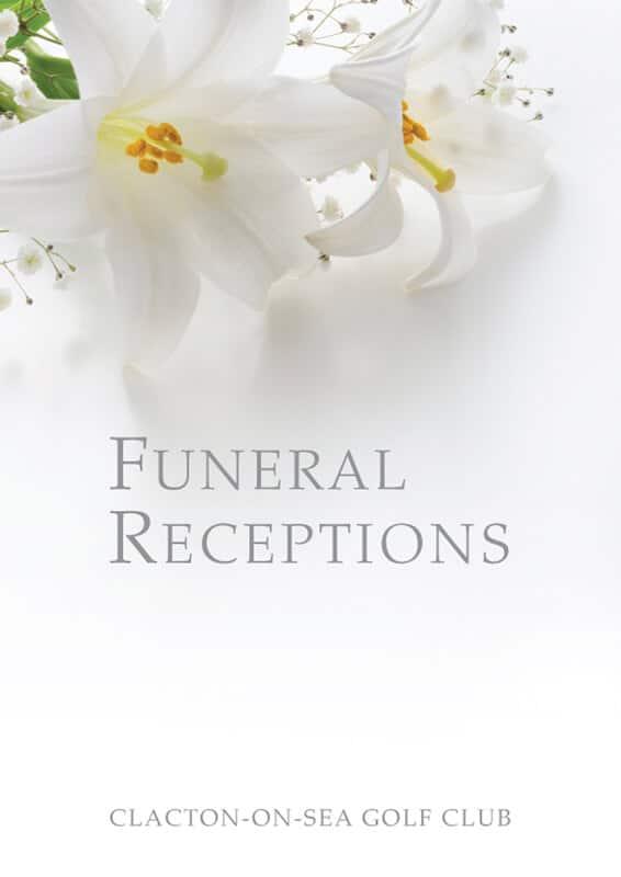Clacton Golf Club Funeral Brochure