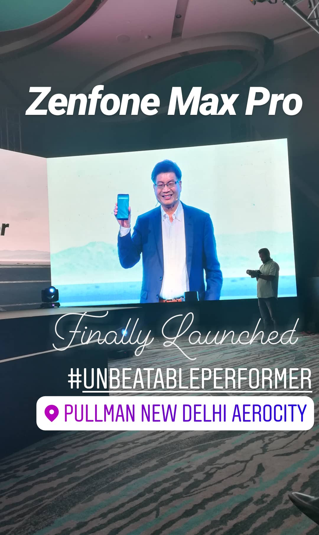 Beat Others With #UnbeatablePerformer - Asus Zenfone Max Pro