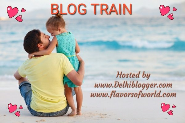 Fathers Day Blog Train