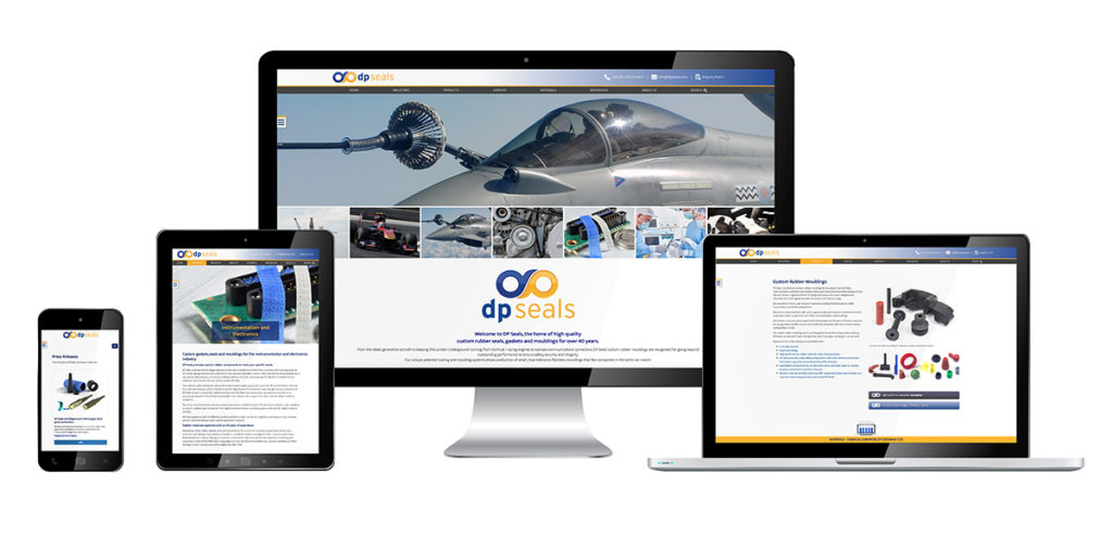 DP Seals' latest Website
