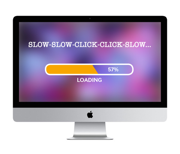 Slow loading web page