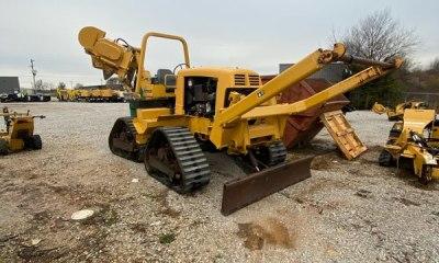 2012 Vermeer RTX1250 quad plow