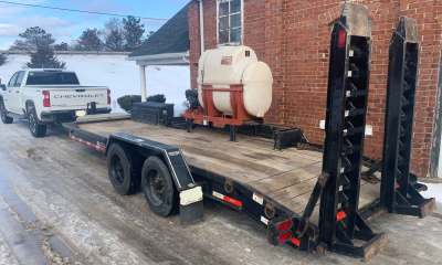 2014 Ditch Witch JT9 drill trailer mixer TK package