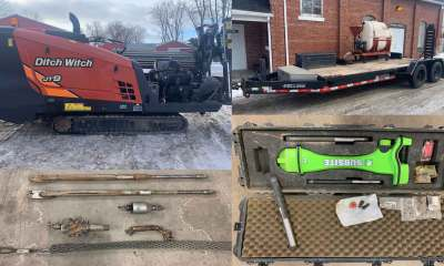 Ditch Witch JT9 package Subsite TK locator Felling trailer FT5 mixer