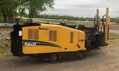 2019 Vermeer D20x22 Series 3 directional drill with F1 falcon package
